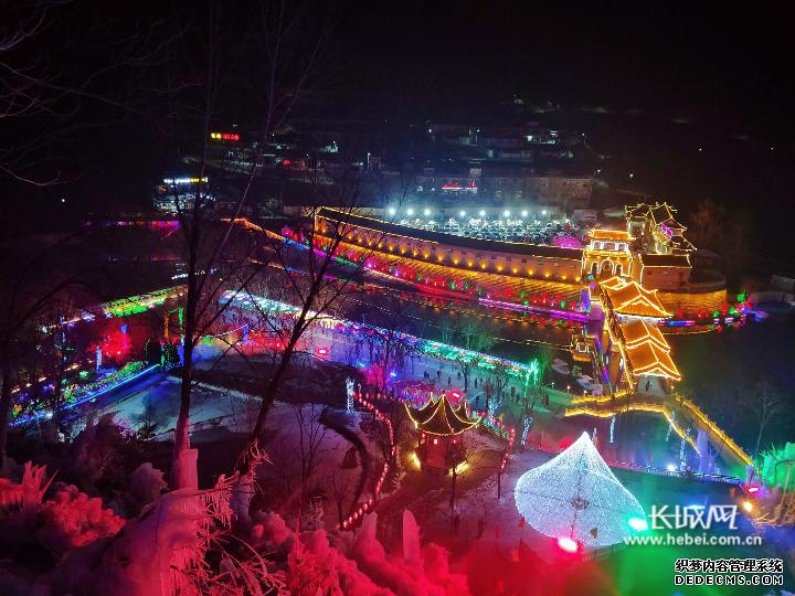 2019年沕沕水第九届冰瀑旅游文化节绚丽开幕